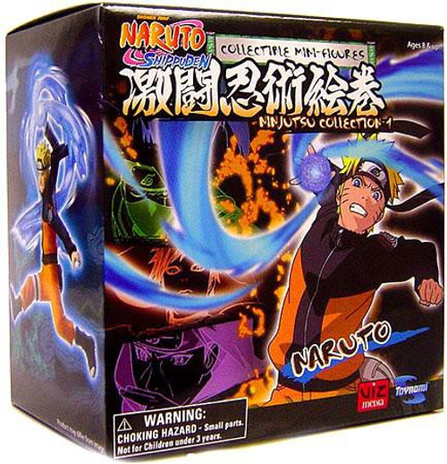 Shippuden Ninjutsu Collection 4-Inch Series 1 Naruto Uzumaki Action Figure