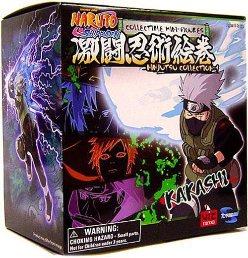Naruto Shippuden Ninjutsu Collection 4-Inch Series 1 Kakashi Action Figure