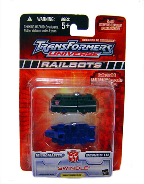 Transformers Universe Micromaster Series 3 Swindle Action Figure