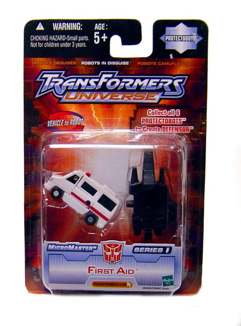 Transformers Universe Micromaster Series 1 First Aid Action Figure