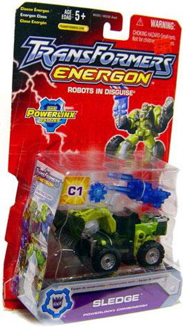 Transformers Energon The Powerlinx Battles Sledge Mega Action Figure C1