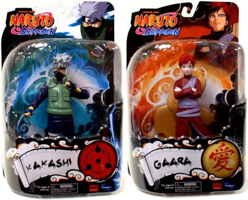 Naruto Shippuden Series 2 Set of Both Action Figures
