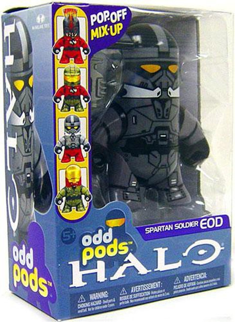 McFarlane Toys Halo 3 Odd Pods Series 1 Spartan Soldier EOD Figure [Steel]