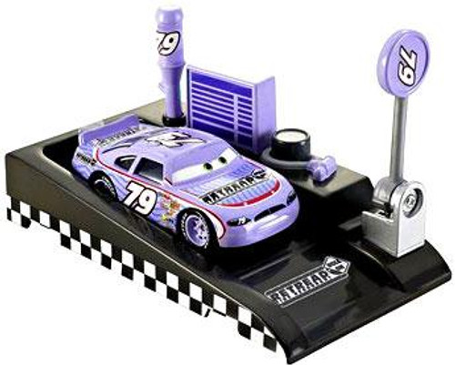 Disney Cars Pit Row Race-Off Retread No. 79 Diecast Car [Includes Launcher]