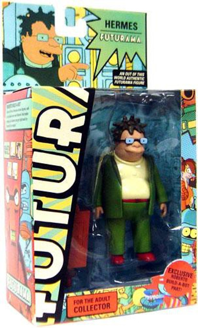 Futurama Series 7 Hermes Exclusive Action Figure