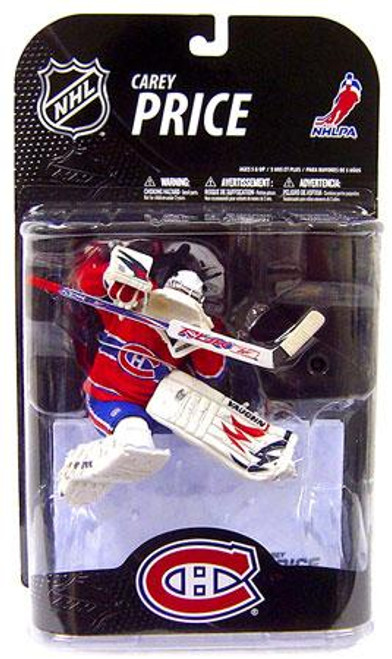 McFarlane Toys NHL Montreal Canadiens Sports Picks Series 21 Carey Price Action Figure [White Helmet Variant]