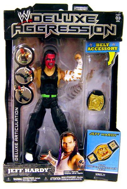 WWE Wrestling Deluxe Aggression Series 21 Jeff Hardy Action Figure