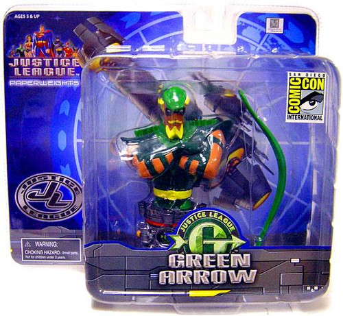 Justice League Unlimited Green Arrow Paperweight
