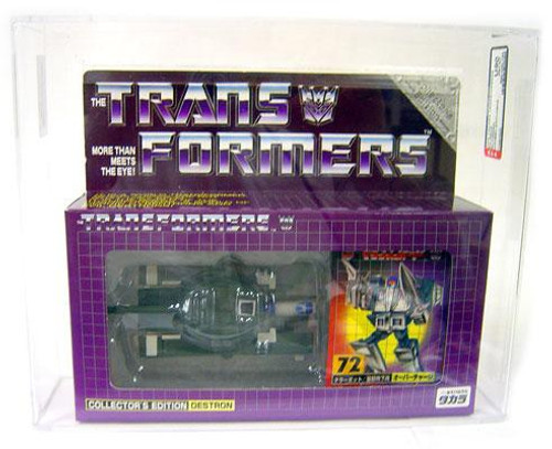 Transformers Japanese Collector's Edition Destron Blitzwing Exclusive Action Figure #72 [AFA 90] [AFA Graded 90]