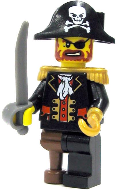 LEGO Pirates Loose Pirate Captain Minifigure [Loose]