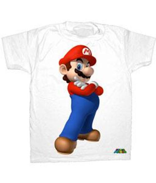 Heroic Super Mario T-Shirt [Adult Medium]
