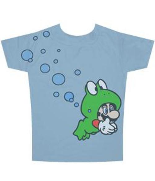 Super Mario Frog T-Shirt [Adult]
