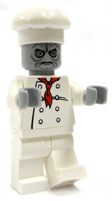 LEGO Loose Zombie Minifigure [Chef Loose]