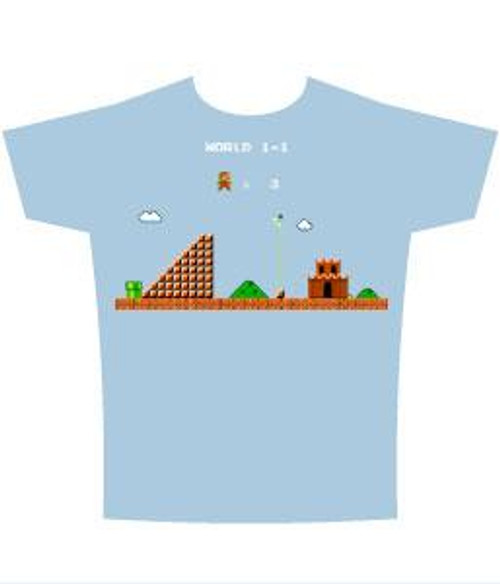 Super Mario Castle T-Shirt [Adult XL]