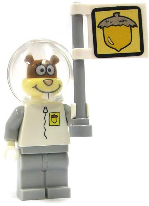 LEGO Spongebob Squarepants Loose Spacewalk Sandy Minifigure [Loose]