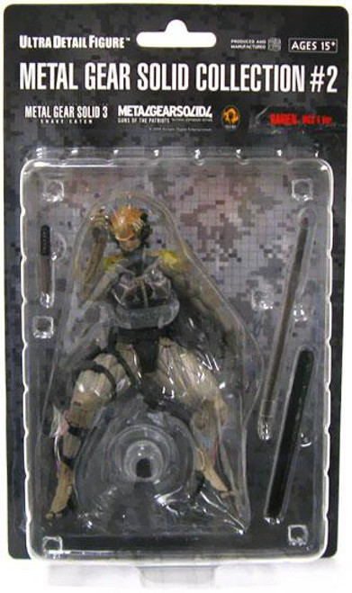 Metal Gear Solid Series 2 Raiden 7-Inch Collectible Figure [MGS4]