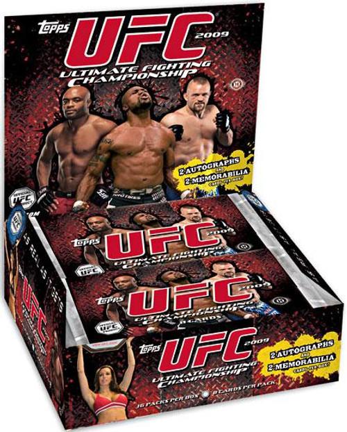 UFC 2009 Round 2 Trading Card Box [Hobby]