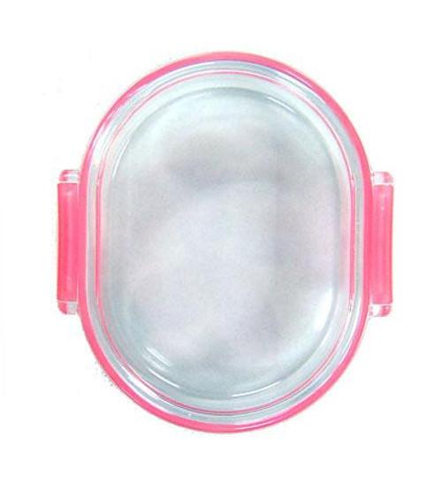 Iwako Pink Eraser Case [Oval]