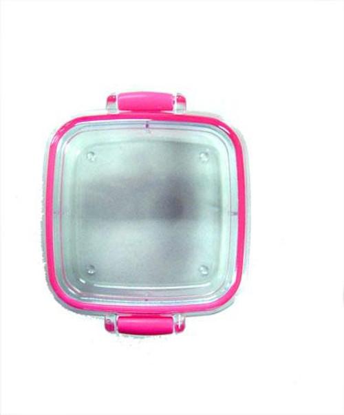 Iwako Pink Eraser Case [Square]