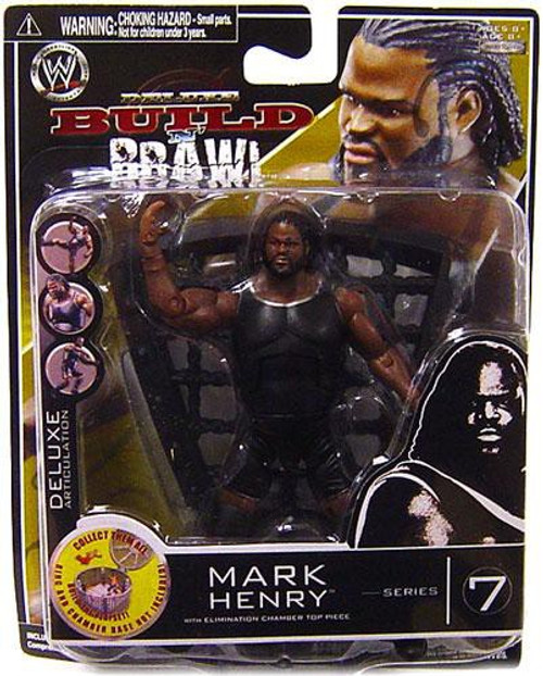 WWE Wrestling Build N' Brawl Series 7 Mark Henry Action Figure