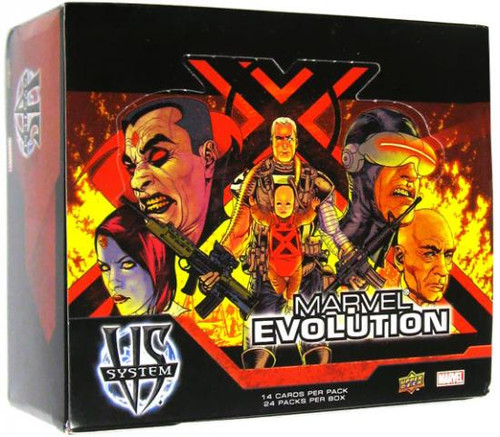 Marvel VS System Trading Card Game Evolution Booster Box