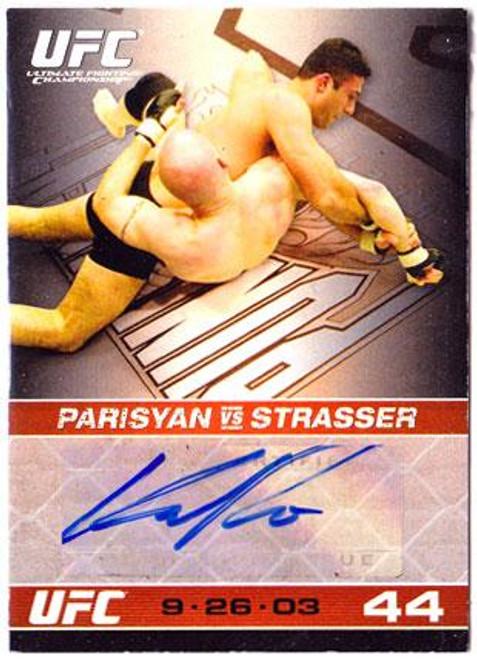 UFC 2009 Round 1 Karo Parisyan Autograph Card