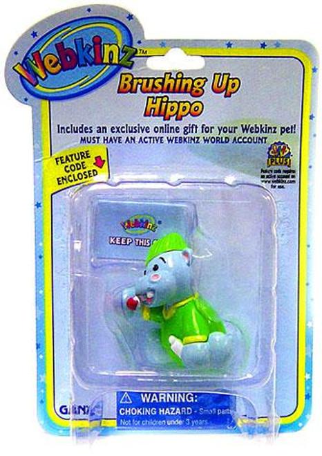 Webkinz Brushing Up Hippo PVC Figure