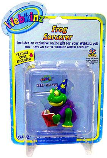 Webkinz Frog Sorcerer PVC Figure