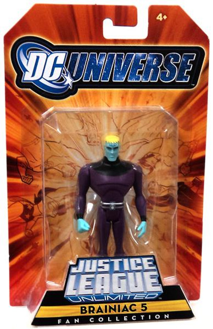 DC Universe Justice League Unlimited Fan Collection Brainiac 5 Exclusive Action Figure