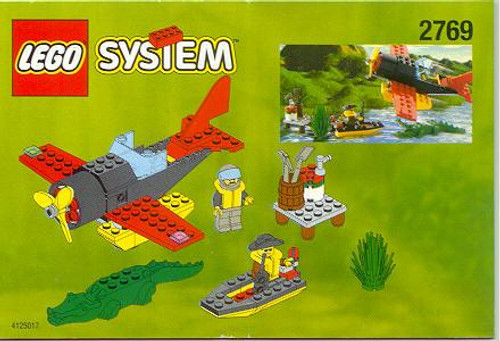 LEGO System Aircraft & Boat Set #2769