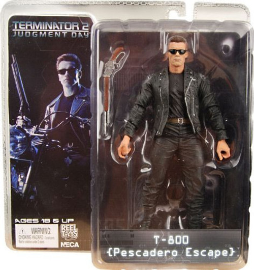 NECA The Terminator Terminator 2 Judgment Day Series 1 T-800 Action Figure [Pescadero Escape]