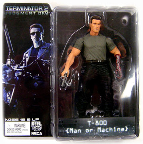 NECA The Terminator Terminator 2 Judgment Day Series 2 T-800 Action Figure [Man or Machine]