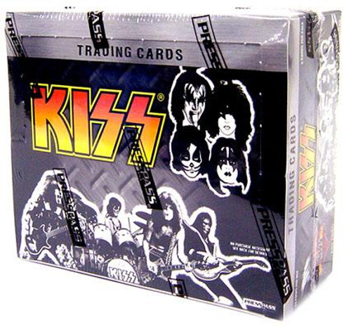 KISS Ikons Trading Card Box