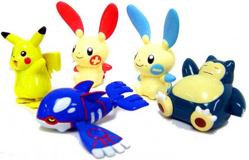 Pokemon Set of 5 Wind Up Figures