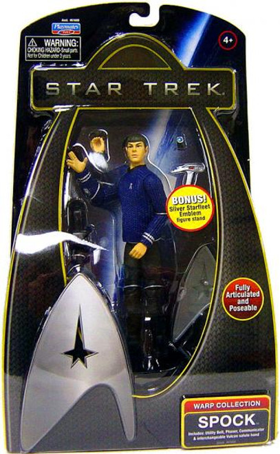 Star Trek 2009 Movie Warp Collection Spock Action Figure