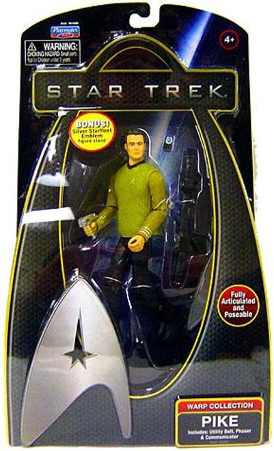 Star Trek 2009 Movie Warp Collection Captain Pike Action Figure