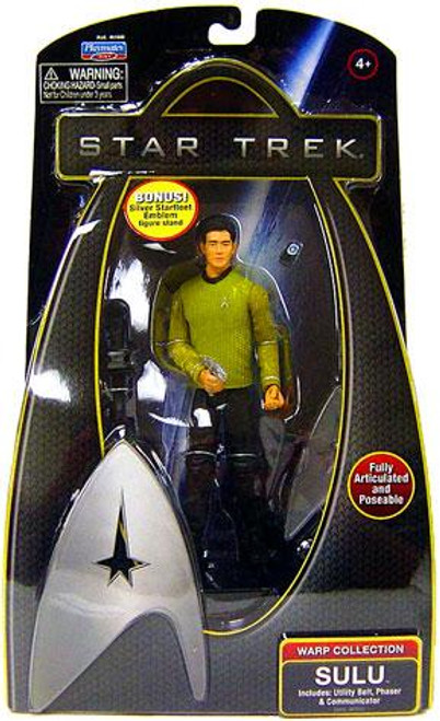 Star Trek 2009 Movie Warp Collection Hikaru Sulu Action Figure
