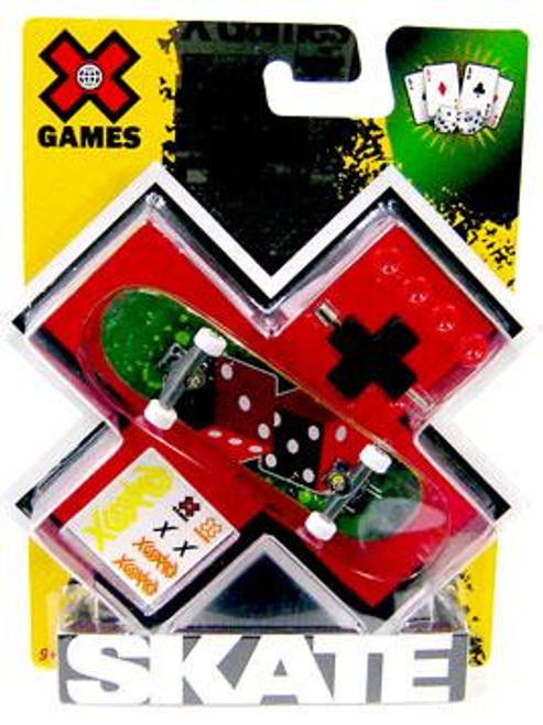 X Games Extreme Sports Dice Mini Skateboard