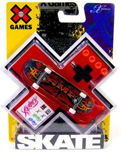 X Games Extreme Sports X-Games Tattoo Logo Mini Skateboard