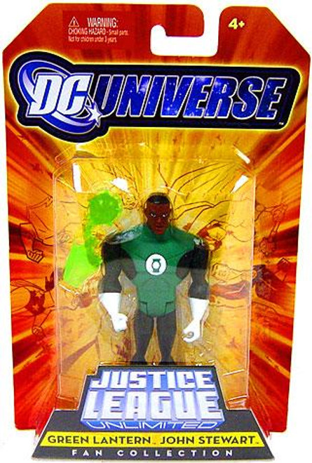 DC Universe Justice League Unlimited Fan Collection Green Lantern John Stewart Action Figure