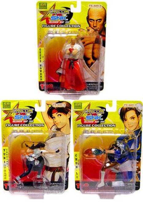 Capcom Vs. SNK Series 2 Set of 3 Action Figures