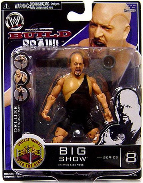 WWE Wrestling Build N' Brawl Series 8 Big Show Action Figure