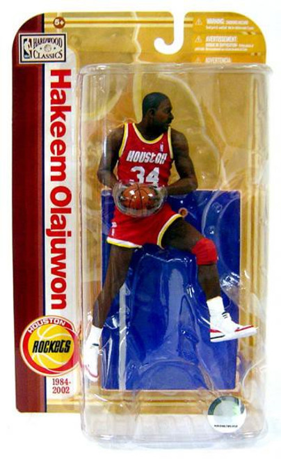 McFarlane Toys NBA Houston Rockets Sports Picks Legends Series 5 Hakeem Olajuwon Action Figure [Red Jersey]