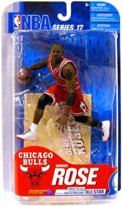 McFarlane Toys NBA Chicago Bulls Sports Picks Series 17 Derrick Rose Action Figure [Red Jersey]