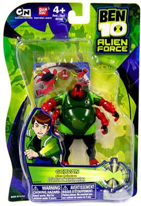 Ben 10 Alien Force Alien Collection Gorvan Action Figure