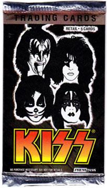 KISS Ikons Trading Card Pack [Retail]