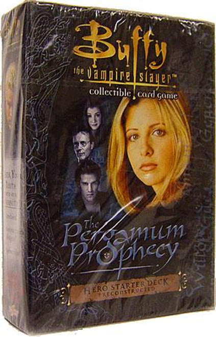 Buffy The Vampire Slayer Collectible Card Game The Pergamum Prophecy Starter Deck [Hero]