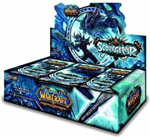 World of Warcraft Trading Card Game Scourgewar Booster Box [24 Packs]