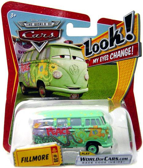 Disney Cars The World of Cars Lenticular Eyes Series 1 Fillmore Diecast Car