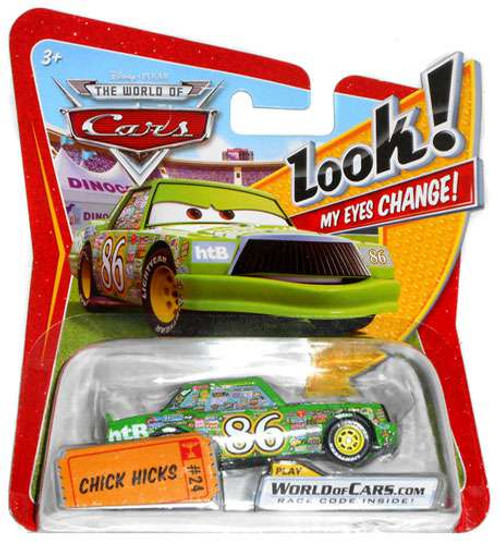 Disney Cars The World of Cars Lenticular Eyes Series 1 Chick Hicks Diecast Car